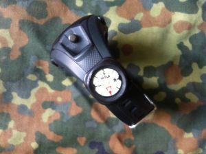 Armbandkompass an KHS Striker