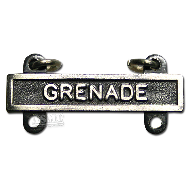 Abzeichen US Qualification Bar Grenade