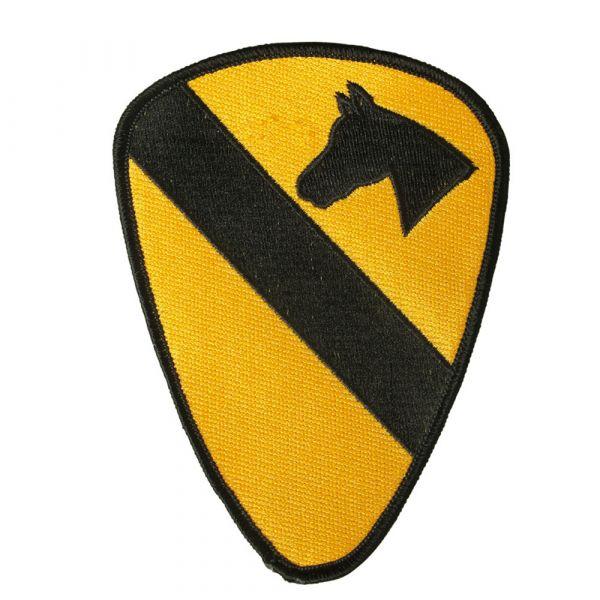 DOPPELT zu 48307 US Textilabzeichen 1st Cavalry