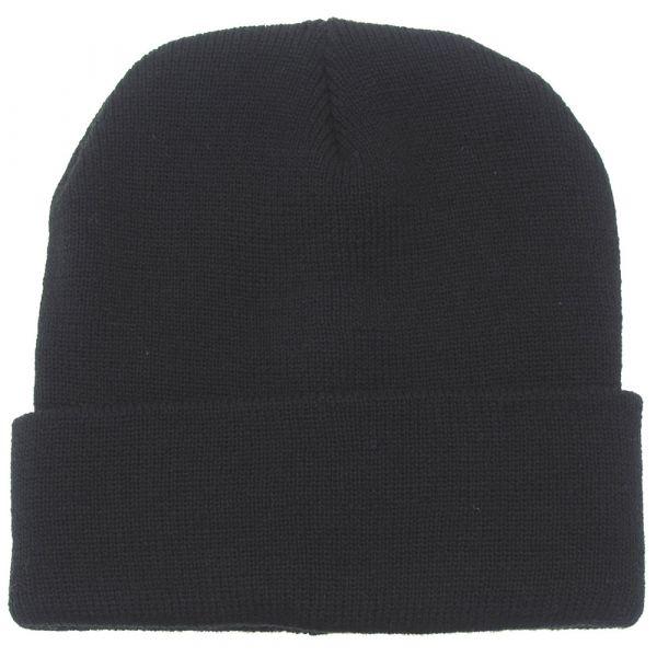 MFH Rollmütze Wolle schwarz