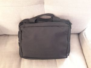 Bag fillled and closed