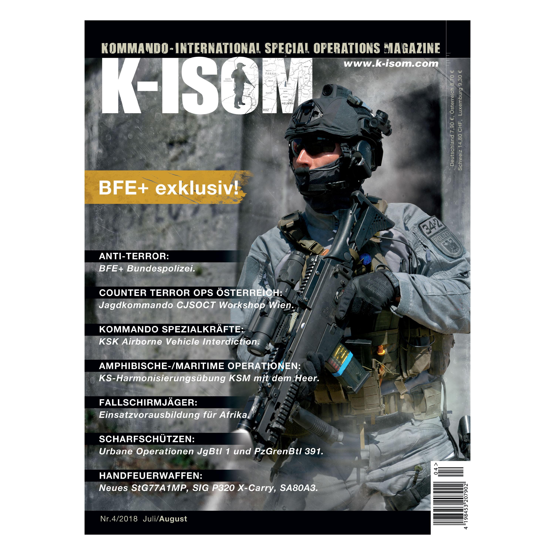 Kommando Magazin K-ISOM Ausgabe 04-2018