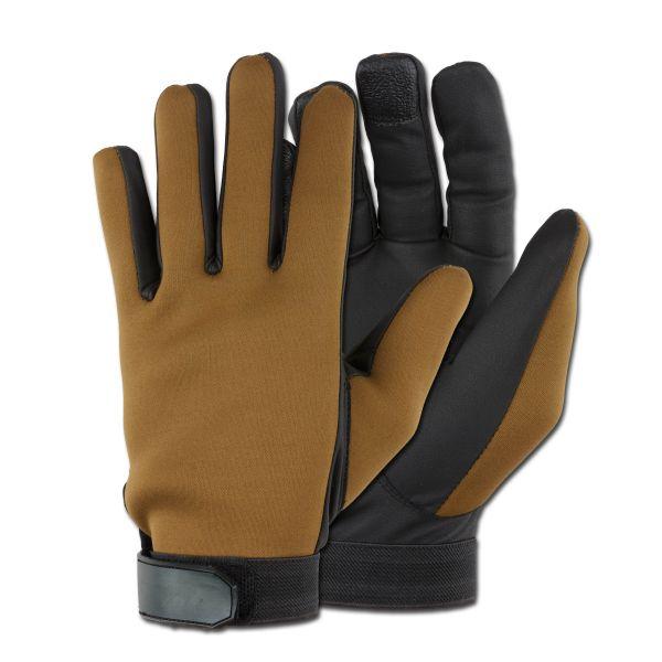Handschuhe Neopren khaki