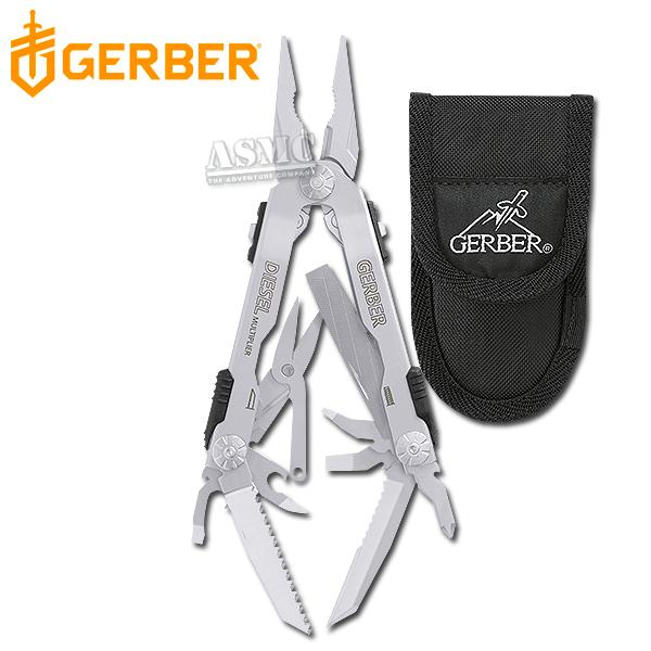 Gerber Diesel silber