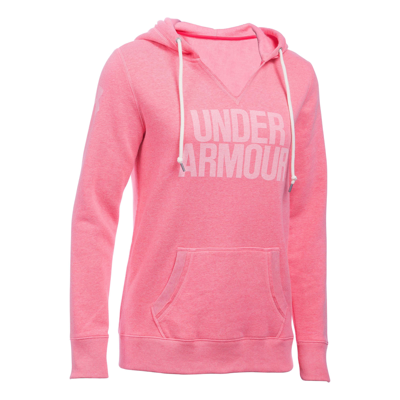 Under Armour Women Pullover Favorite Fleece pink