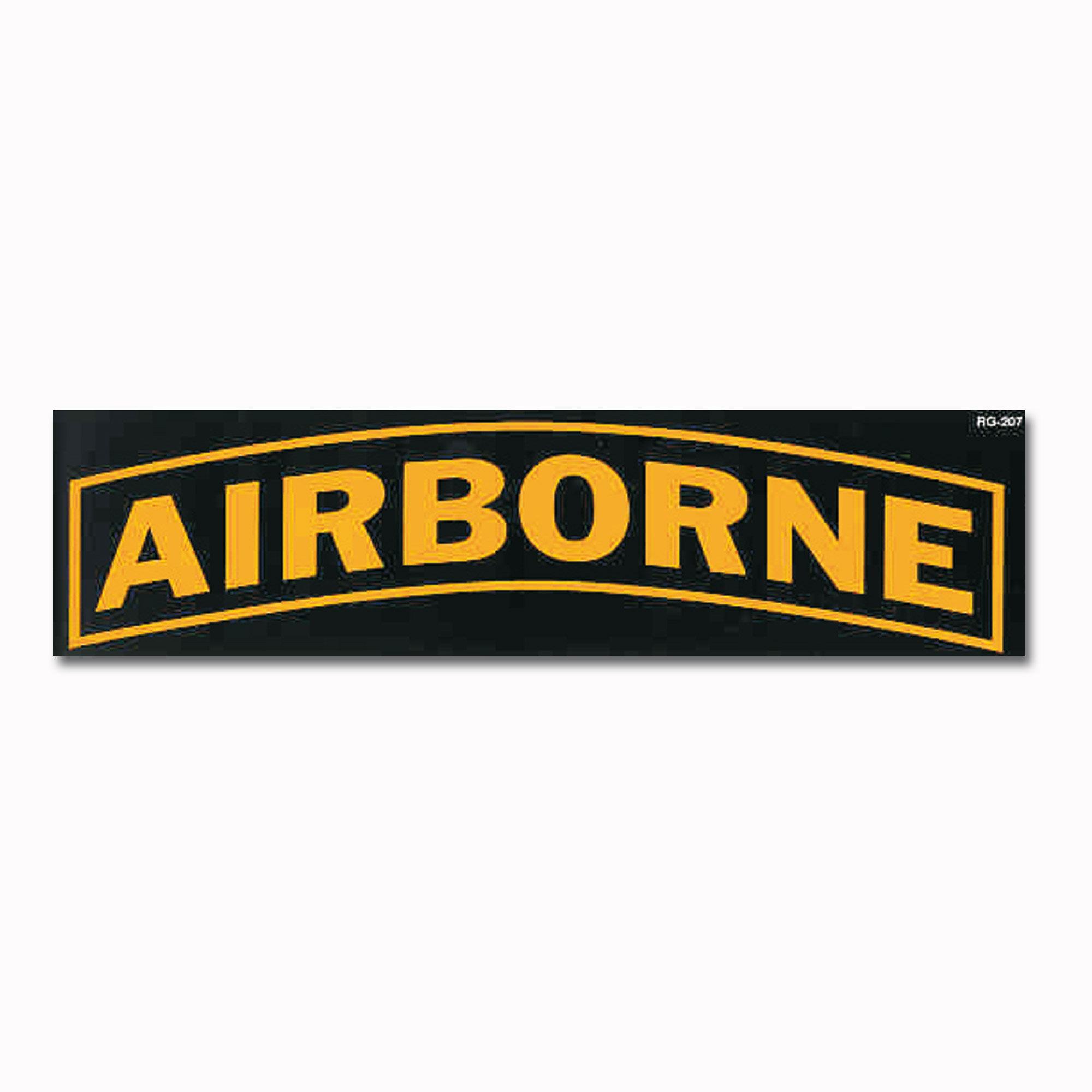 Bumper Sticker AIRBORNE