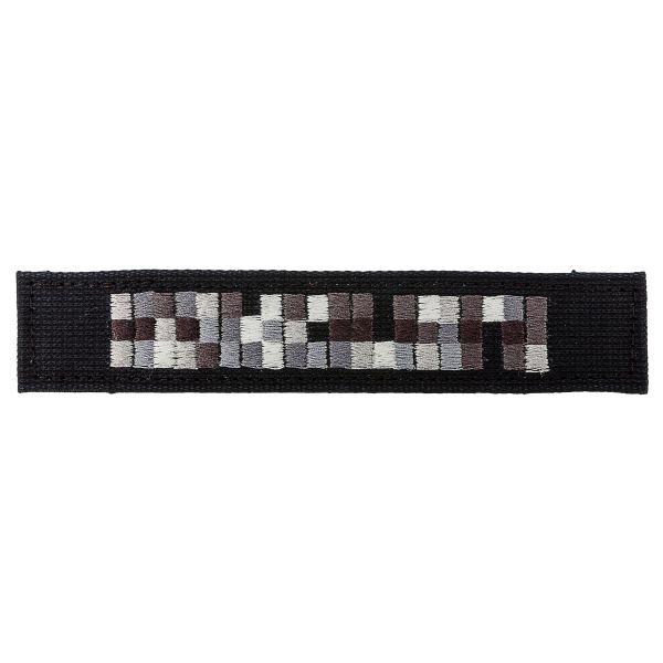 Namensbänder Spezialkräfte schwarz grau