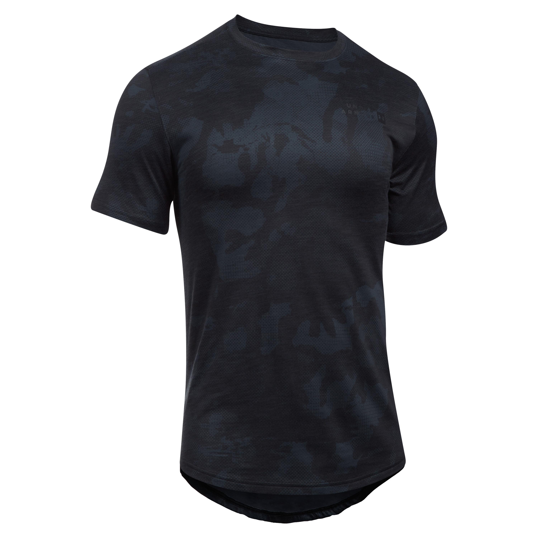 Under Armour T-Shirt Sportstyle Core Tee grau-schwarz