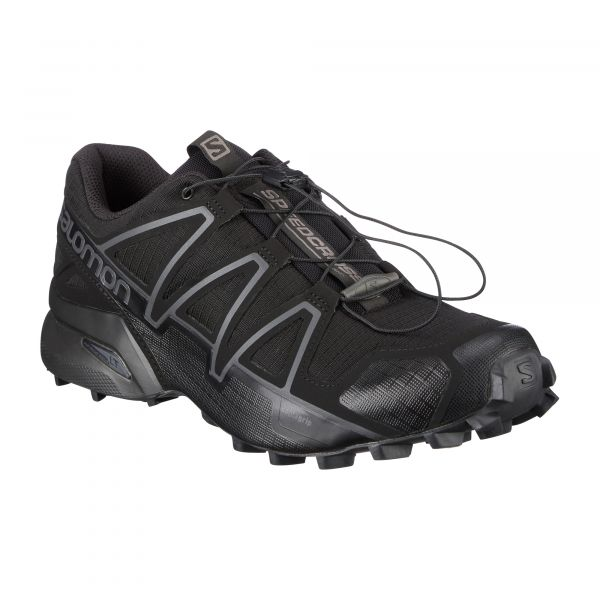 Salomon Schuhe Speedcross 4 Wide Forces schwarz