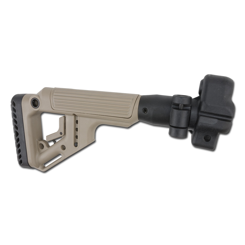 Fab Defense Taktischer Klappschaft mit Wangenauflage MP5 sand