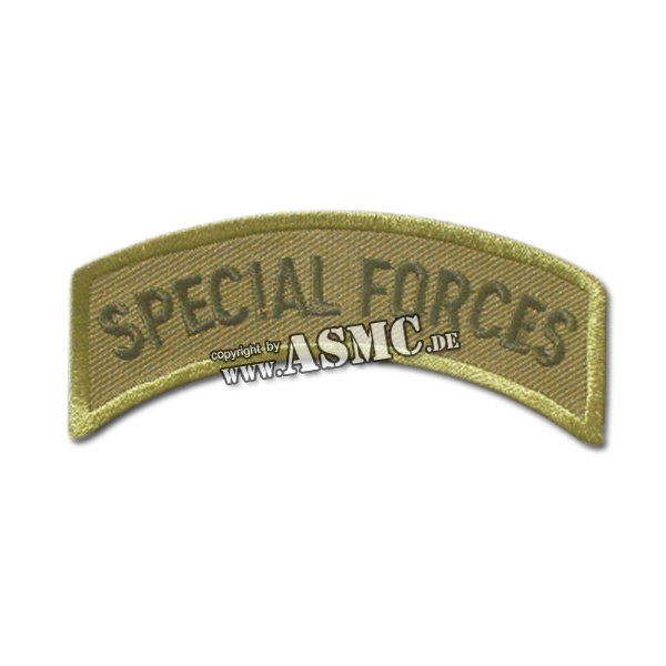 Armabzeichen US Special Forces oliv/schwarz