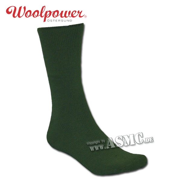 Woolpower Socken Wildlife oliv