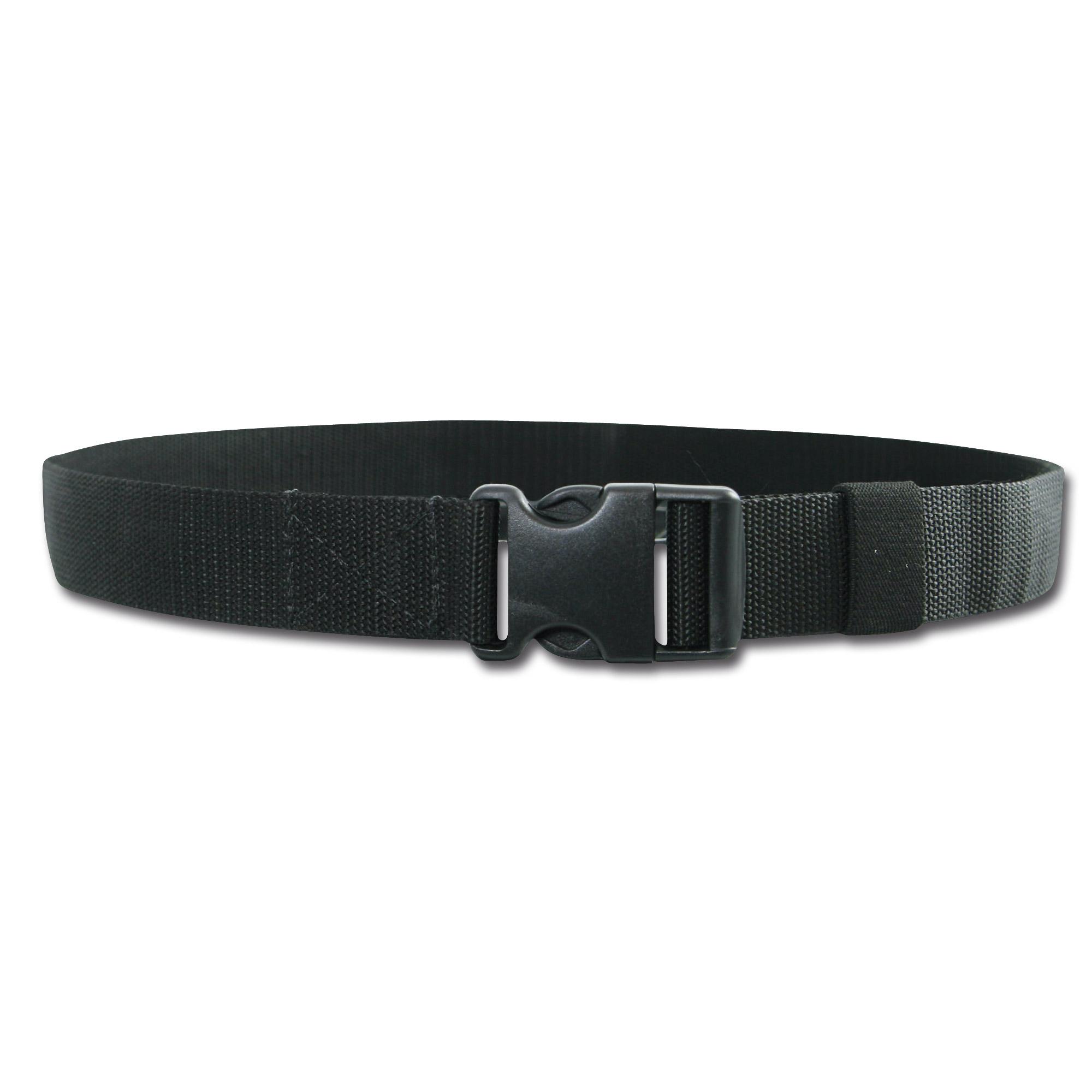 Hosengürtel Nylon schwarz
