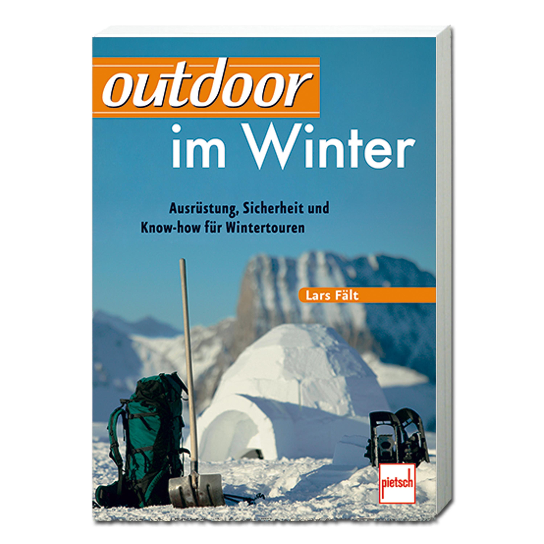 Buch outdoor im Winter Lars Fält
