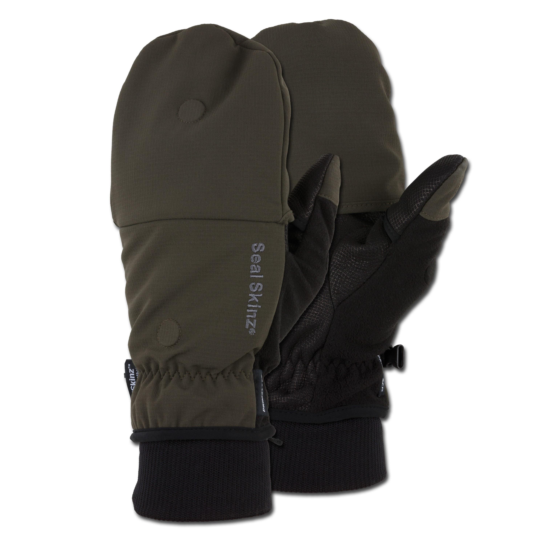Handschuhe Sealskinz Outdoor Sports Mitten oliv