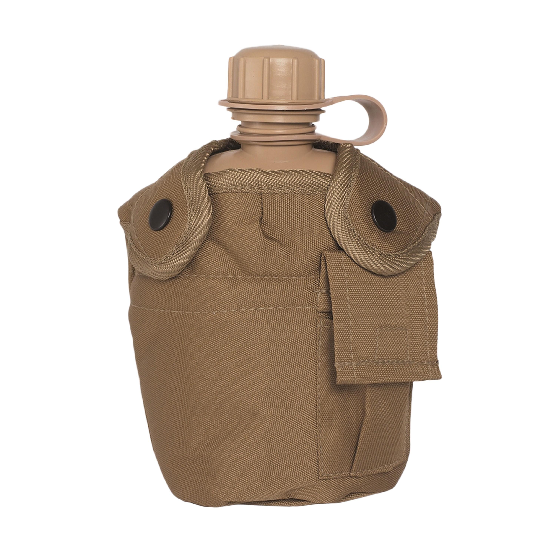 Feldflasche 1 qt. mit Becher und Hülle coyote