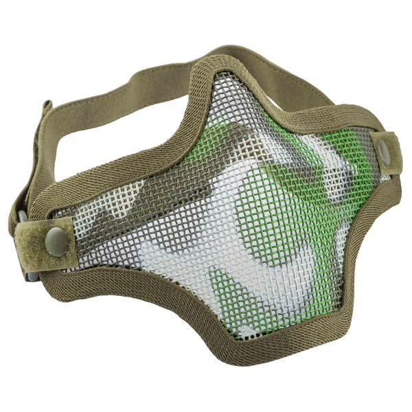 101 Inc. Gitterschutzmaske Airsoft Metal Mesh Mask woodland