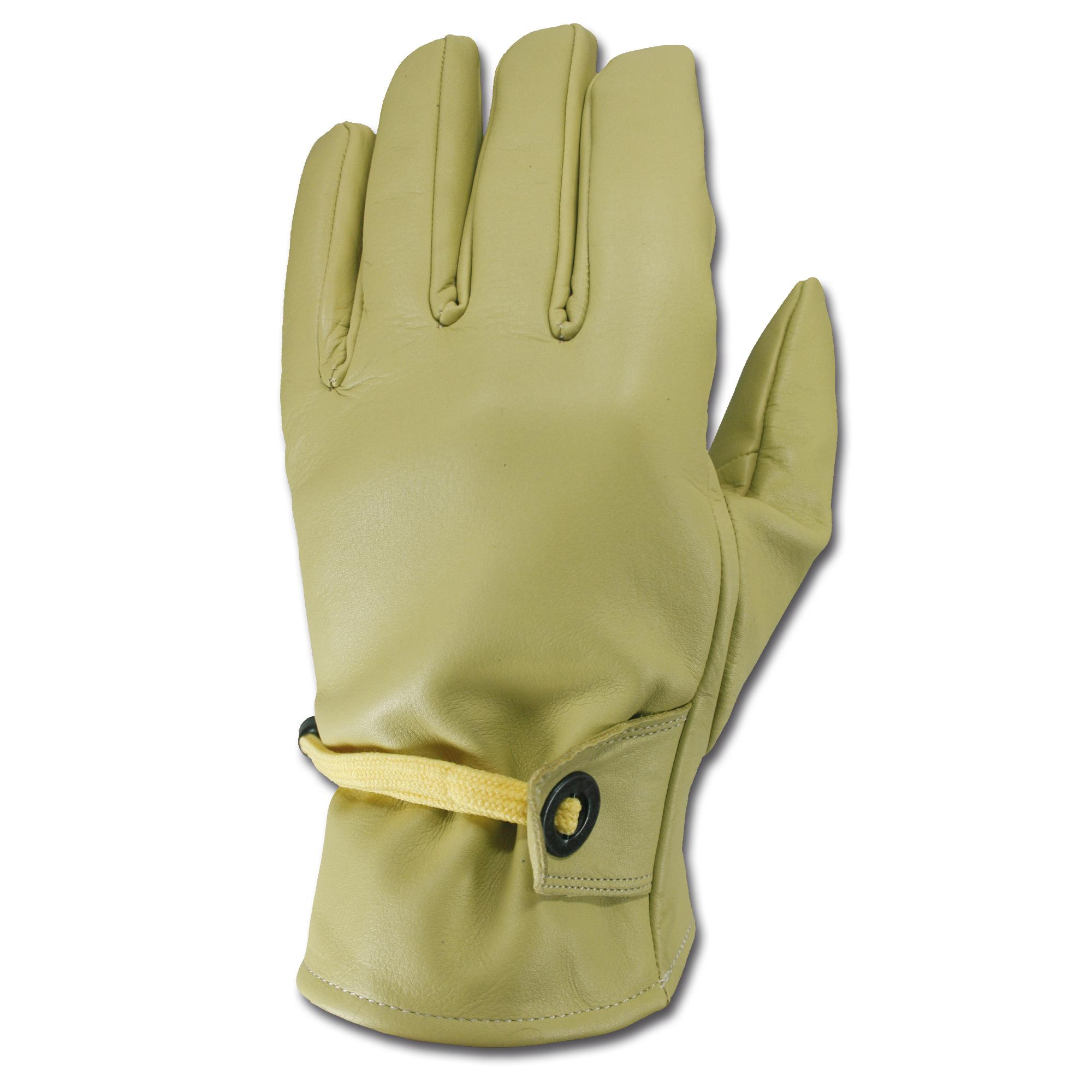 Western Handschuhe beige