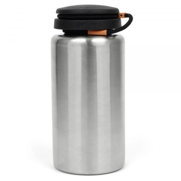 Nalgene Trinkflasche Weithals Edelstahl 1.1 L