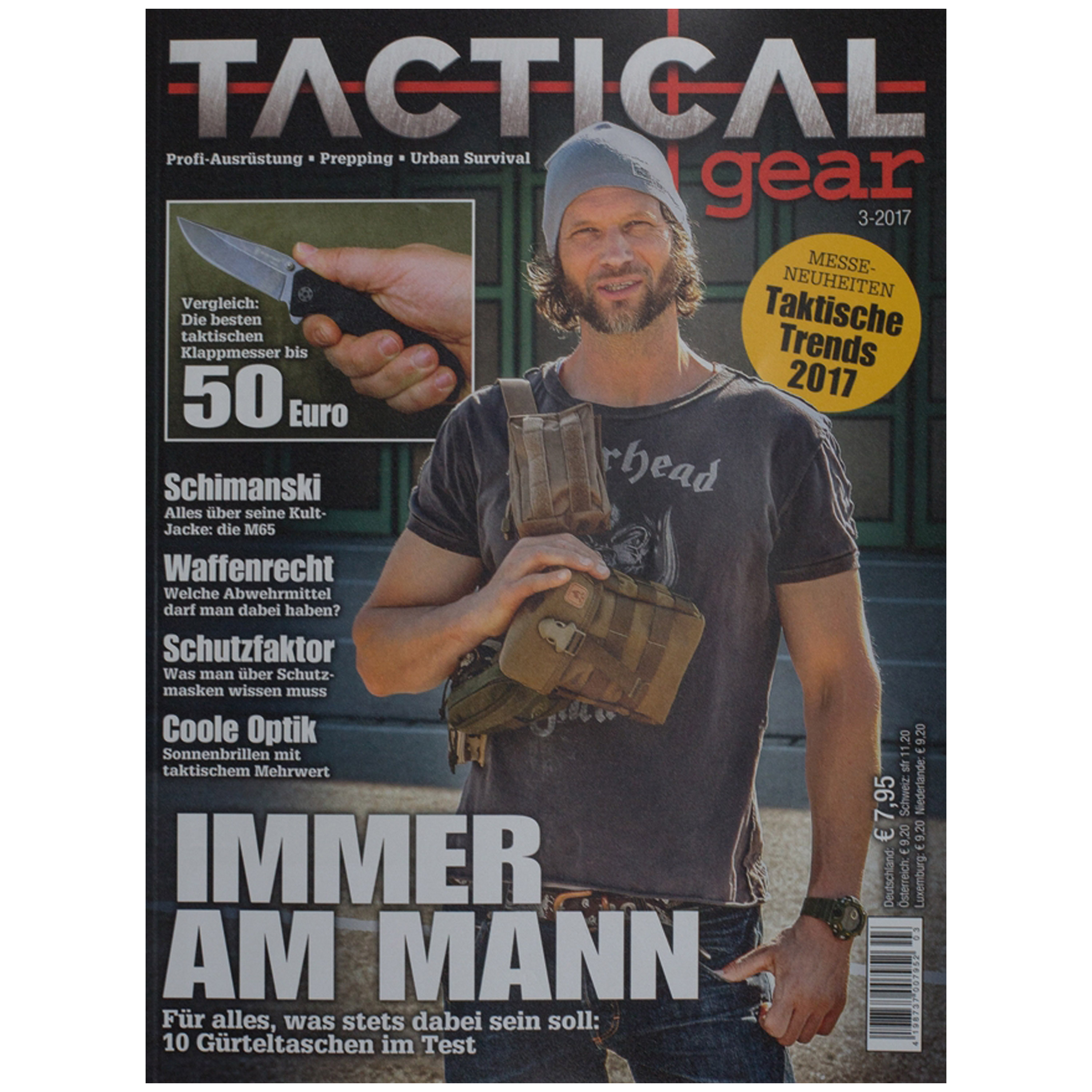 Magazin Tactical Gear 3/2017