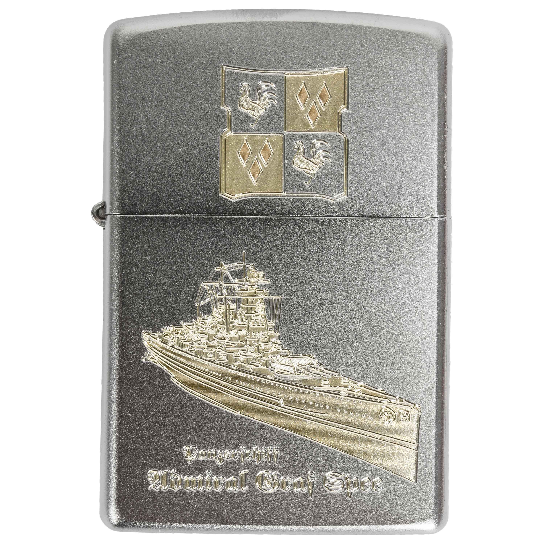 Zippo mit Gravur Graf Spee II