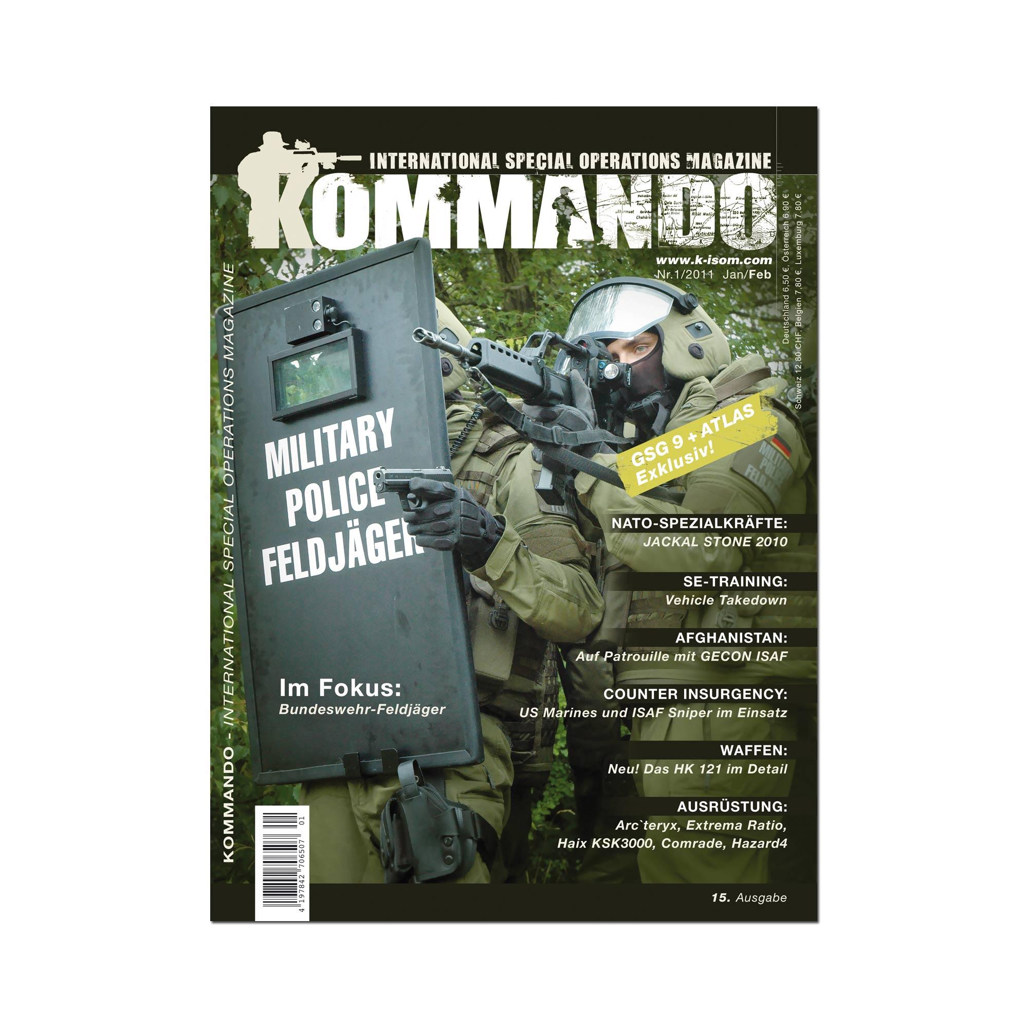 Kommando Magazin K-ISOM Ausgabe: 15