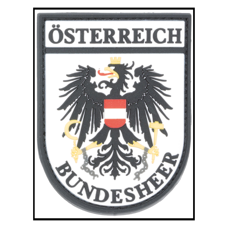 3D-Patch Ärmelabzeichen Österreich Bundesheer fullcolor
