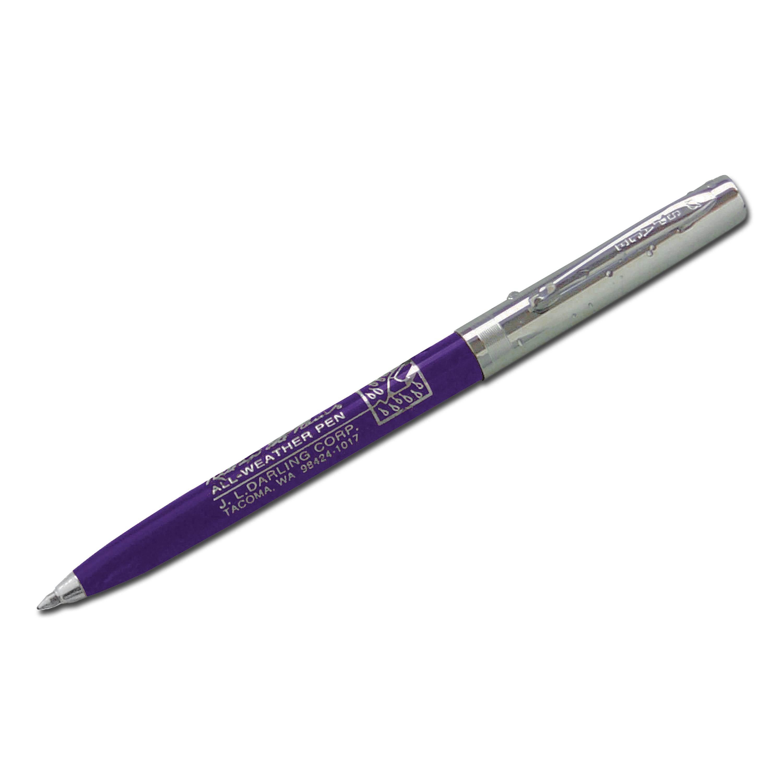 Kugelschreiber Rite in the Rain Clicker Pen blau