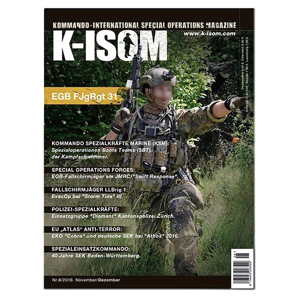 Kommando Magazin K-ISOM Ausgabe 06-2016