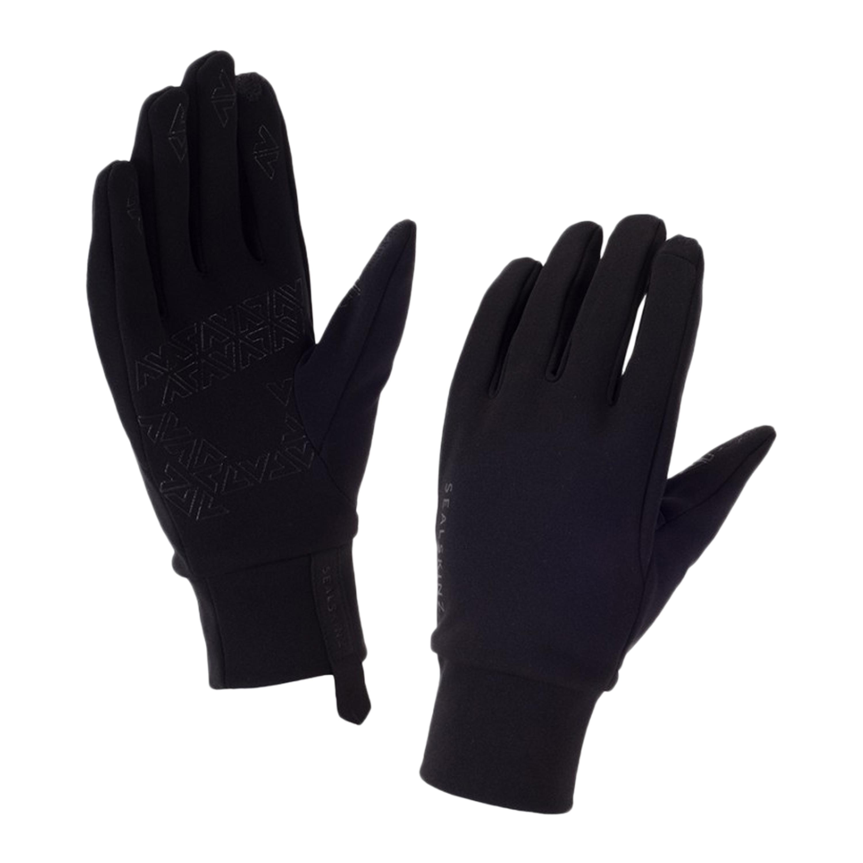Sealskinz Handschuh Stretch Fleece Nano schwarz