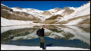 Trecking Lake Acsention Queyras