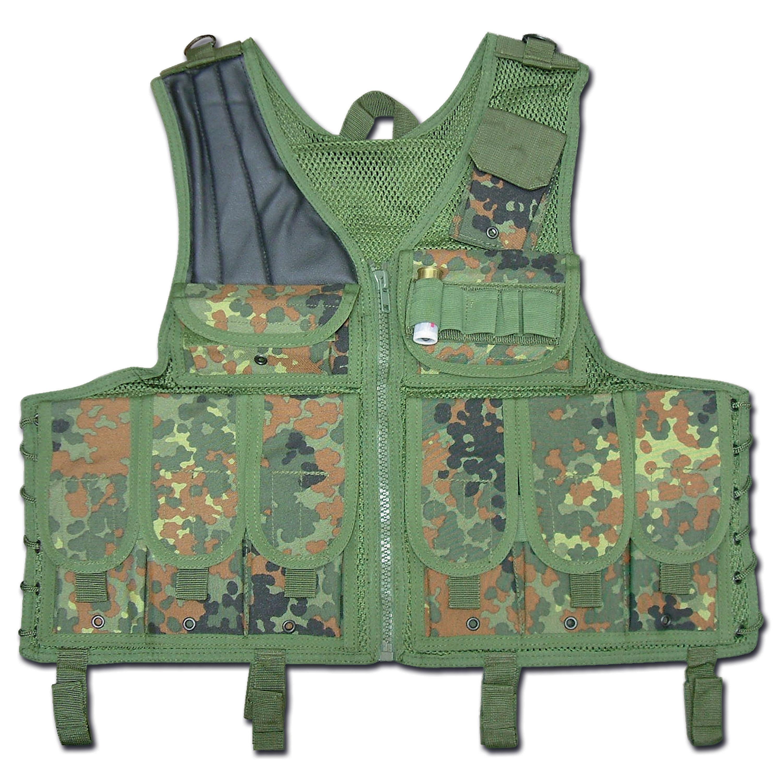 Tactical-Weste Import flecktarn