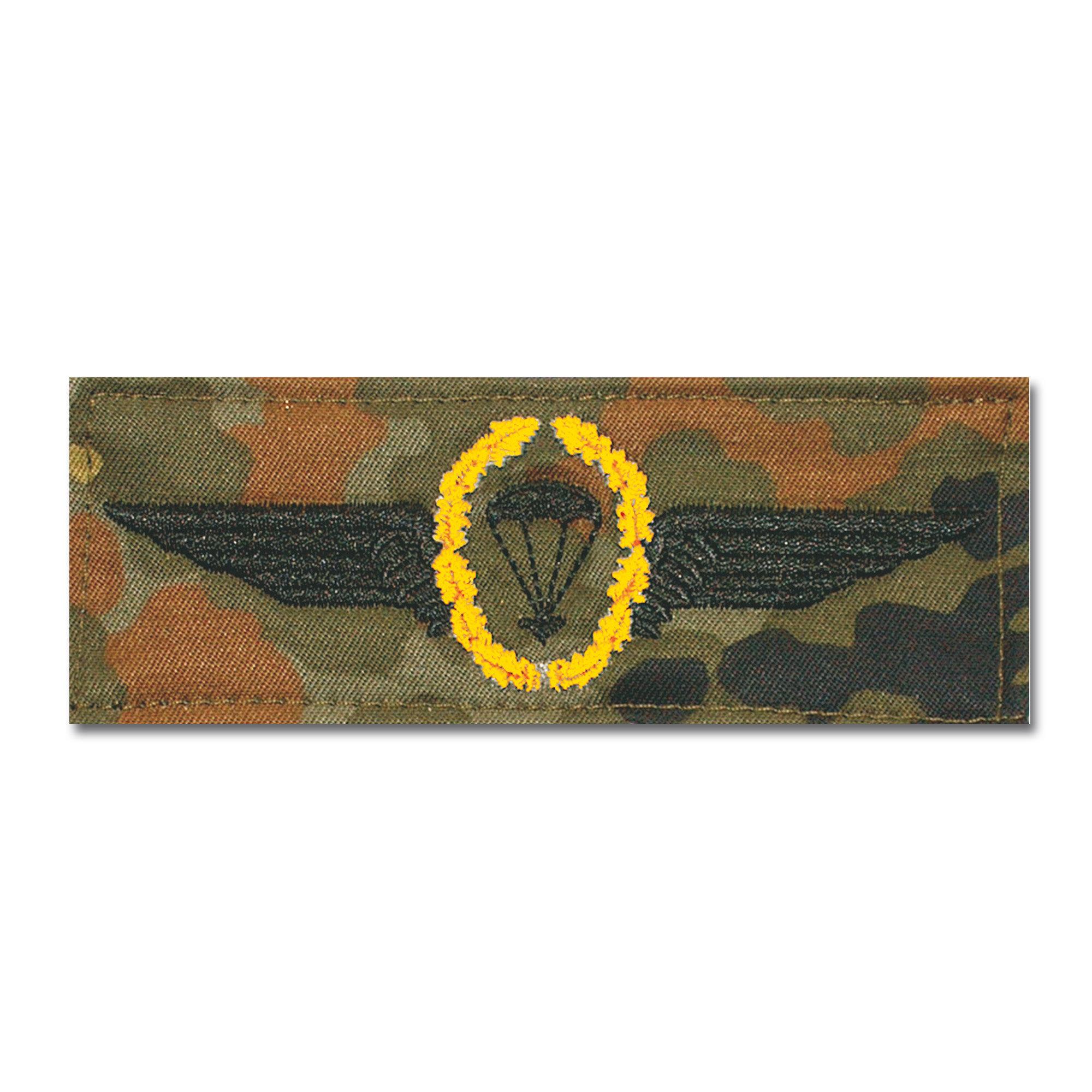 Abz. BW Fallschirmspringer gold/fleckt