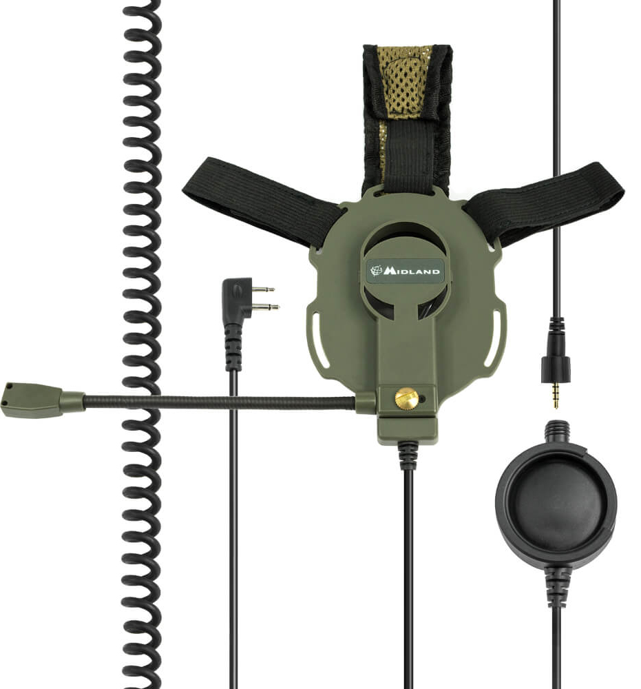 Midland Headset Bow-M Evo Tactical Military