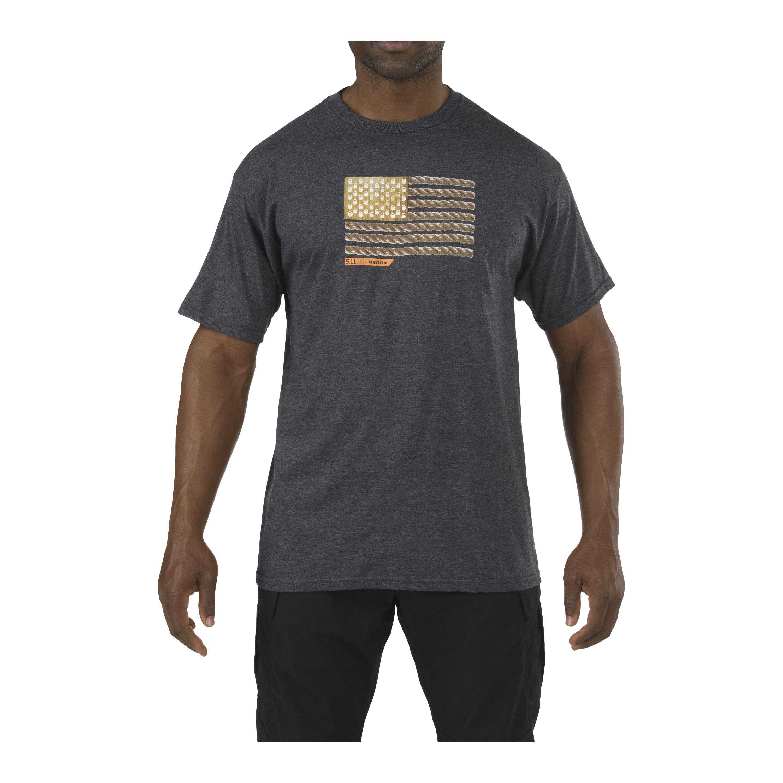 5.11 T-Shirt Recon Rope Ready grau