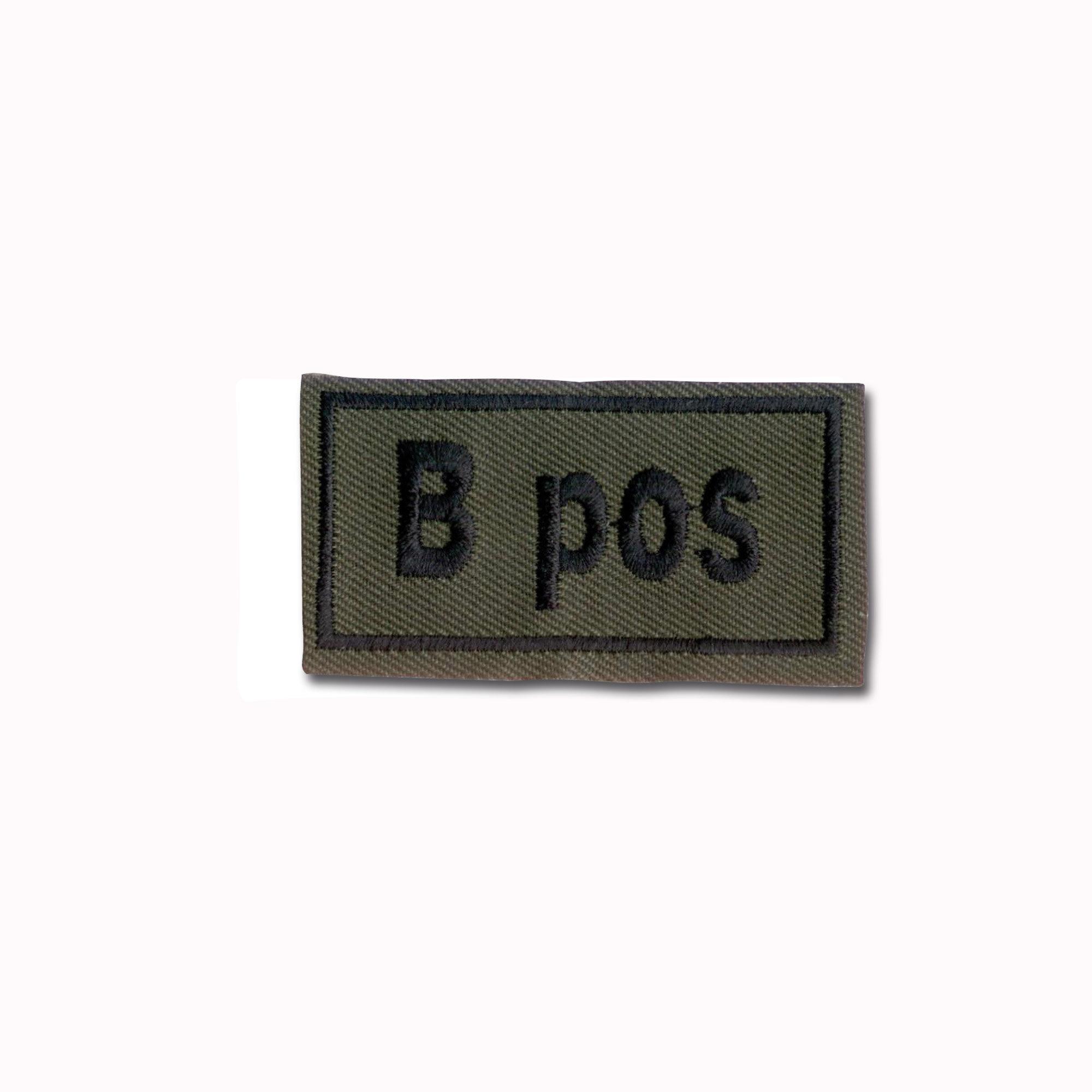 Abzeichen Bloodpatch B pos oliv