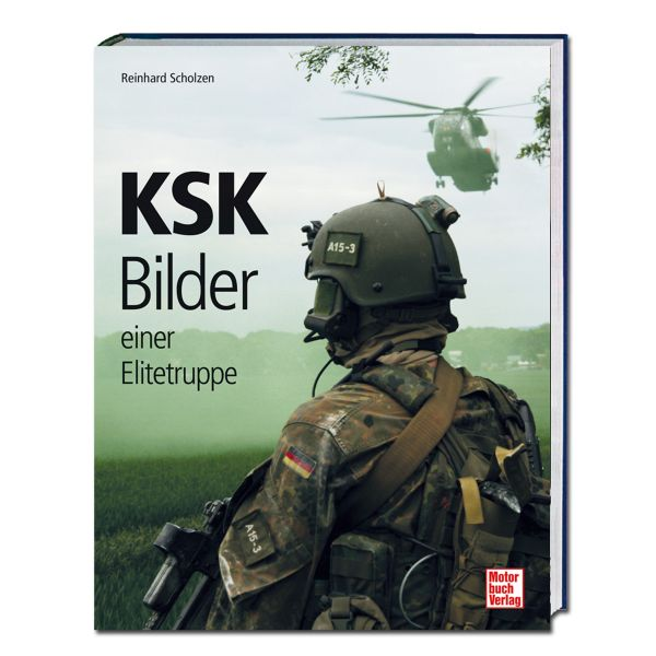 Buch KSK - Bilder einer Elitetruppe