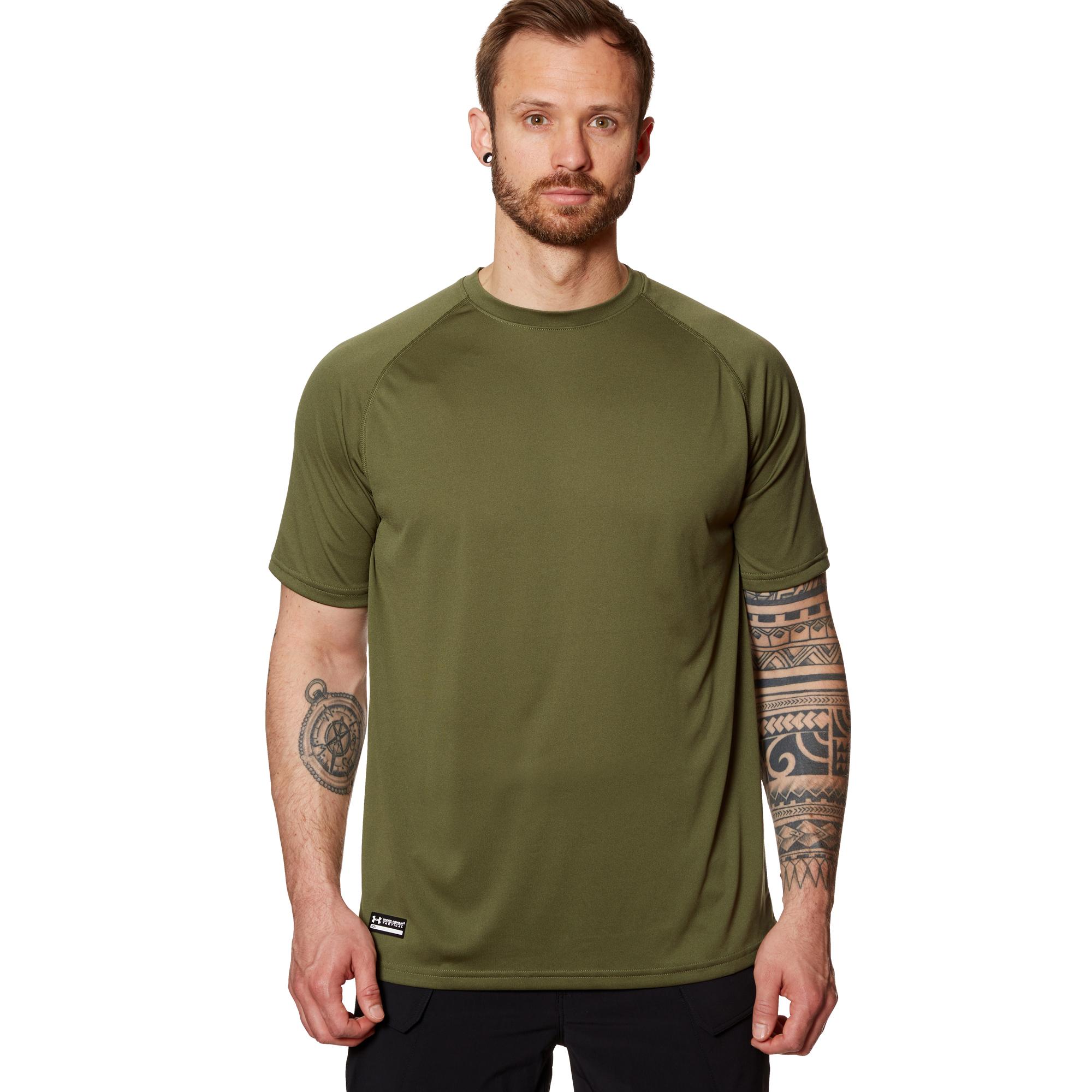 Under Armour Tactical T-Shirt HeatGear Tech Tee oliv