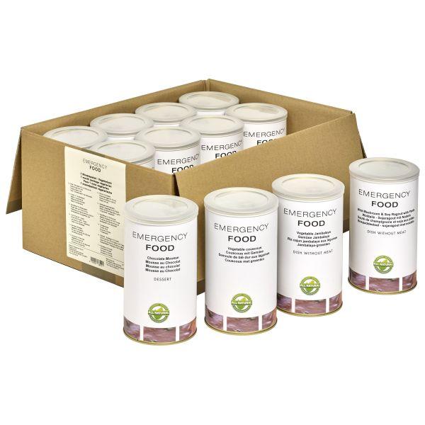 Emergency Food Notfallpaket 1 Person 30 Tage vegetarisch