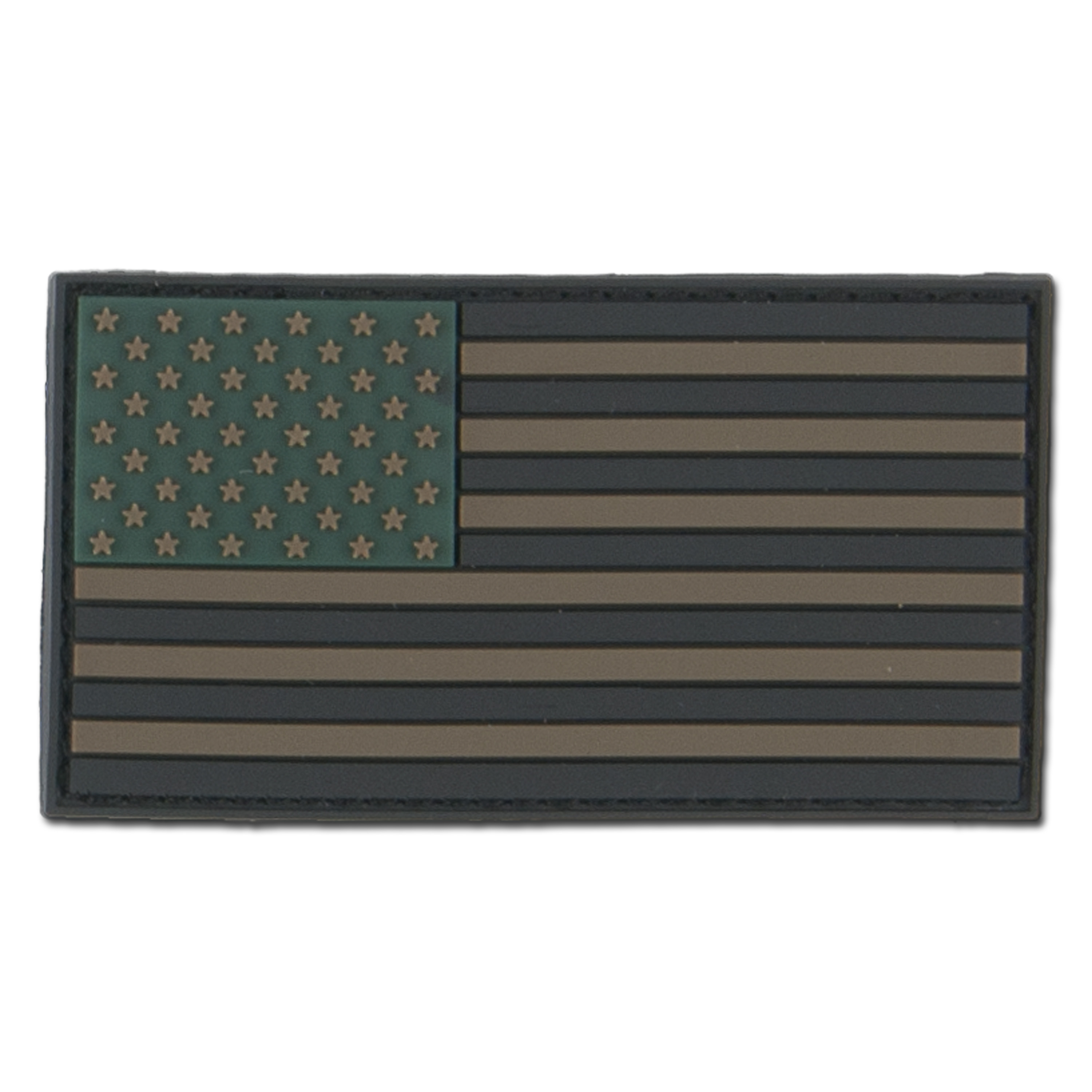 3D-Patch USA Fahne subdued