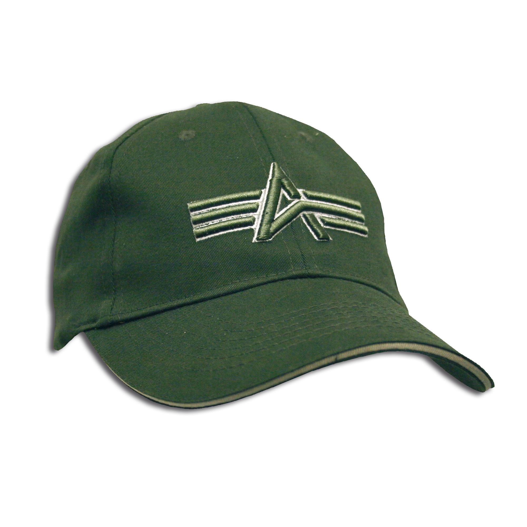 Baseball Cap Alpha Industries oliv