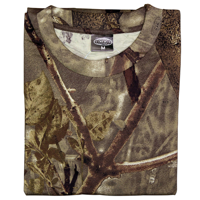T-Shirt hunter braun