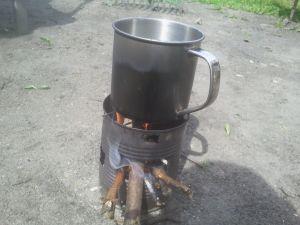 Tee kochen