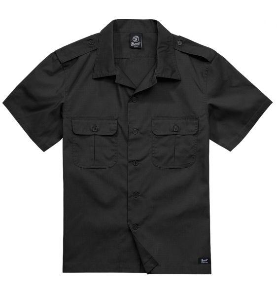 Brandit Shirt US Ripstop Shortsleeve schwarz