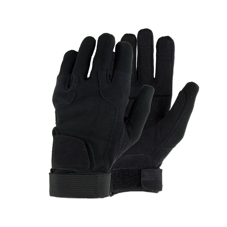 Fingerhandschuhe MFH Stripes schwarz