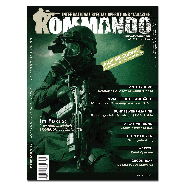 Kommando Magazin K-ISOM Ausgabe: 18