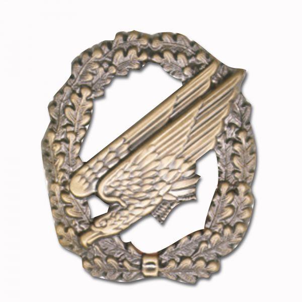 Abz. Barett Fallschirmjäger ohne Flagge Bronze