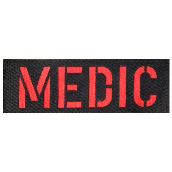 Zentauron Patch MEDIC schwarz rot