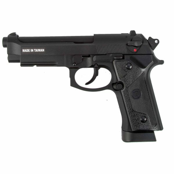 KJ Works Airsoft Pistole M9 Vertec Full Metall GBB Co2 schwarz