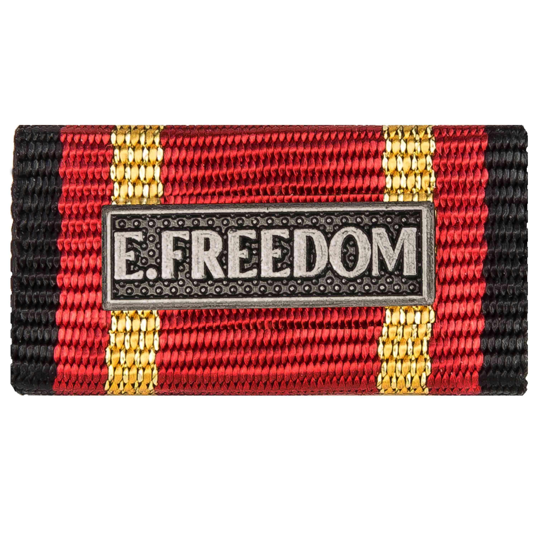 Ordensspange Auslandseinsatz Freedom Silber